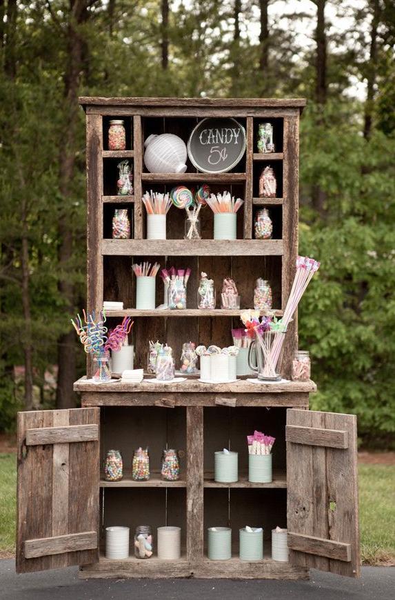 decoración, boda, novios, banquete, mesa, casual, chic