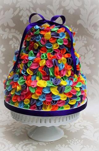 cakes, tarta, dulce, colores, postre