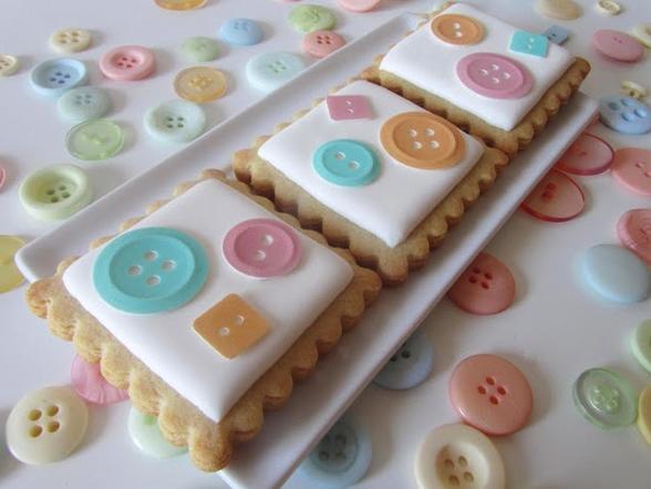 cookies, galletas, dulce, rico, postre, botones