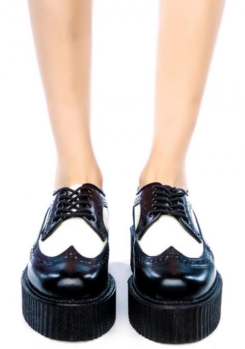 zapatos, cordones, creepers, outfit, calzado, mujer, moda.