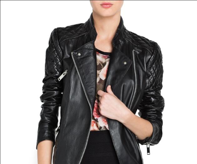 chaqueta, chamarra, cazador, cuero, negro, moda mujer, outfit