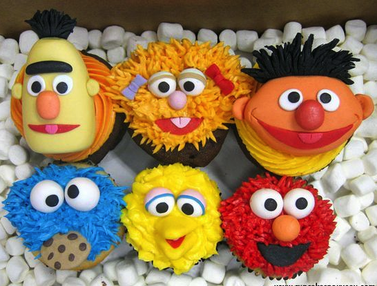cupcakes, dulces, rico, postre