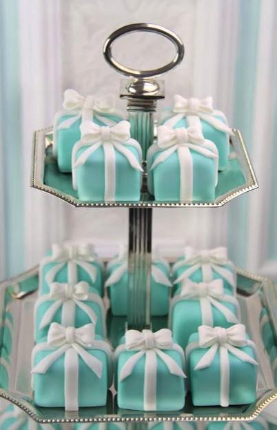cupcakes, postres, dulce, azul Tiffany,