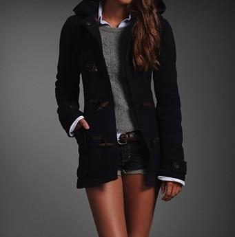 punto, jersey, trenca, abrigo, outfit, modelo.