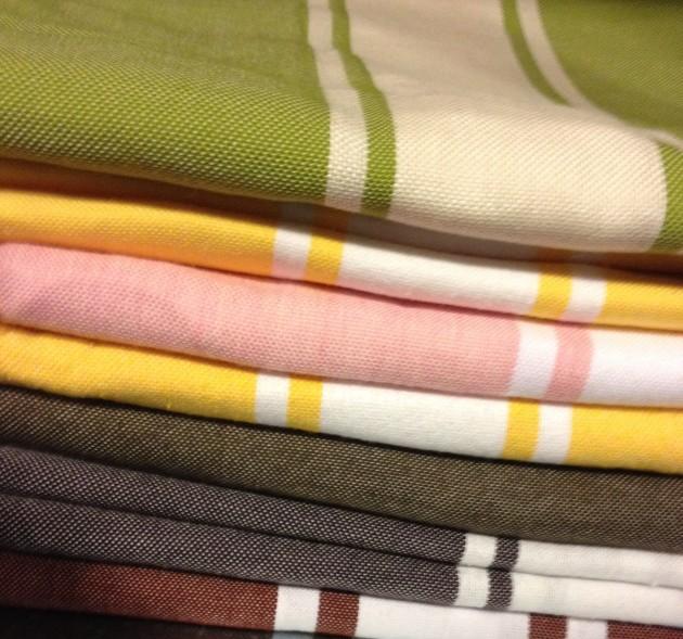 toallas, decoración, hogar