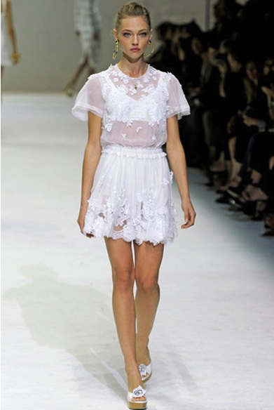 vestido, modelo, outfit, baby doll