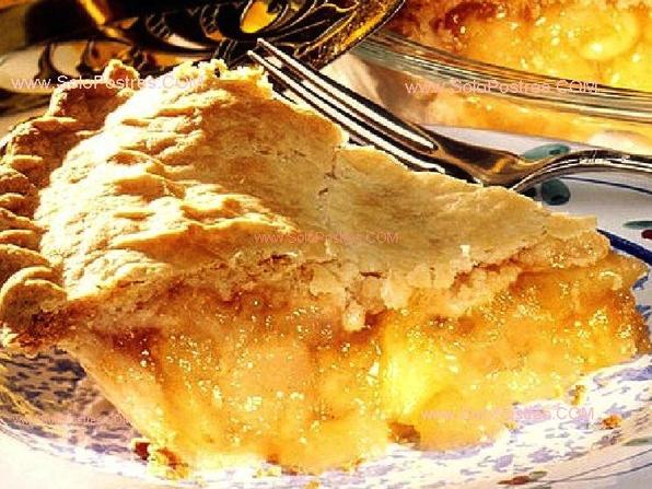tarta de manzana, postre, dulce, otoño, receta, cocina
