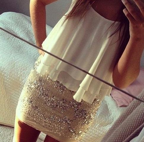 falda, pailletes, lentejuelas, moda, tendencia