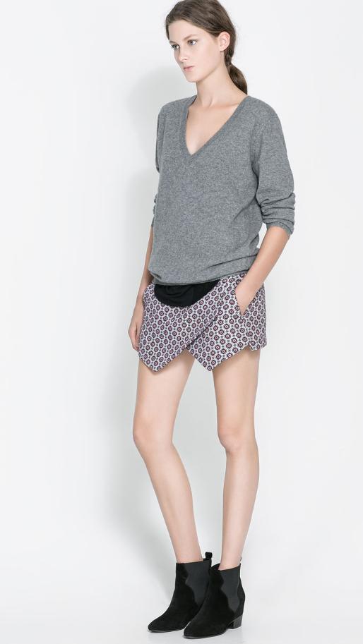 skort, falda, short, moda, mujer, outfit