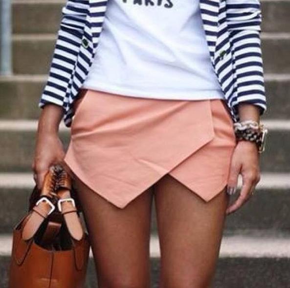 skort, short, skirt, outfit, moda, mujer