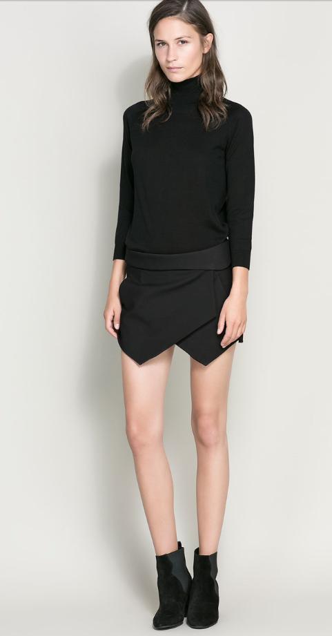 Short, skort, falda, outfit, moda, mujer