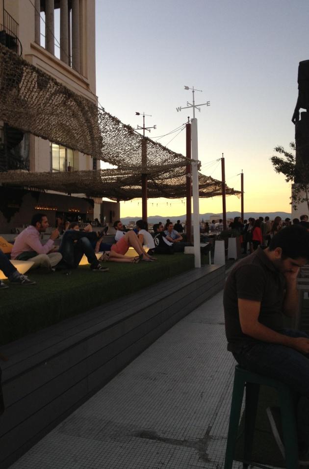 terraza, azotea, Centro de Bellas Artes, after work, Madrid