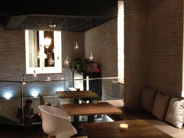 restaurante, Sexto, rico, decoración, Chueca, copas