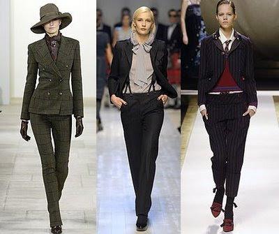 falda, pantalón, Olivia Palermo, outfit, moda, mujer, boyish, tomboy