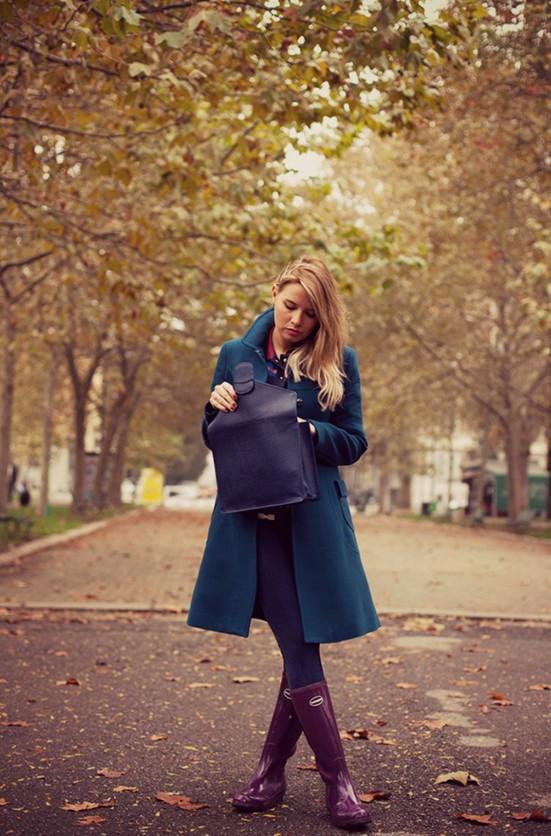 botas de agua, rain boots, tendencia, mujer, moda, outfit