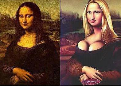 Mona Lisa, arte, cirugía,