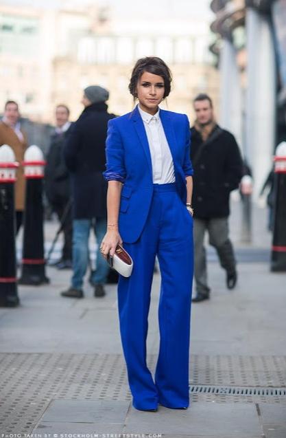 azul, klein, Yves, pintor, color, tendencia, moda, mujer