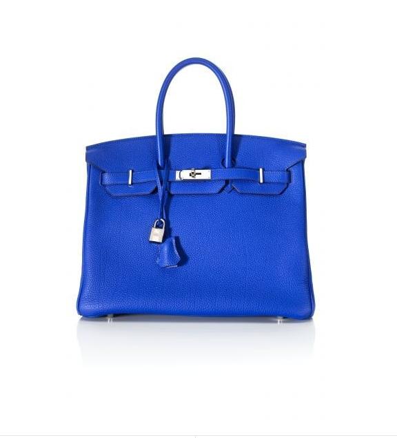 Birkin, Hermés, bolso, azul Klein, tendencia, mujer