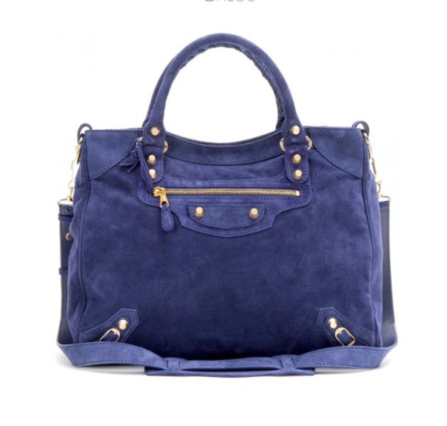 Balenciaga, bolso, azul Klein, tendencia, mujer