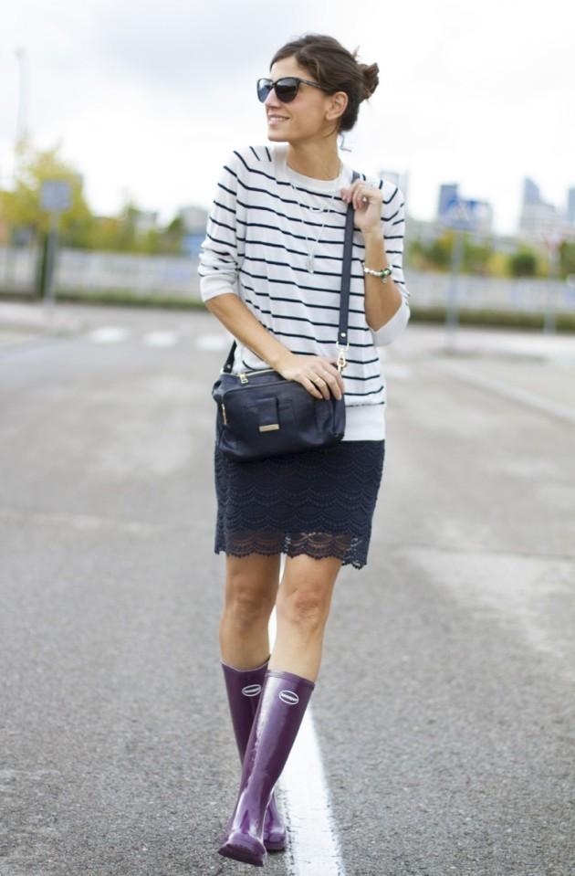 botas de agua, rain boots, tendencia, mujer, moda