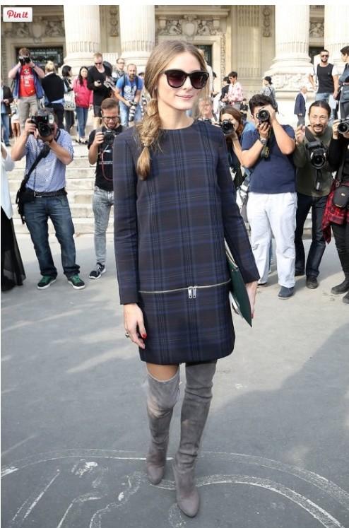 Zara, Olivia Palermo, botas, outfit, moda, mujer
