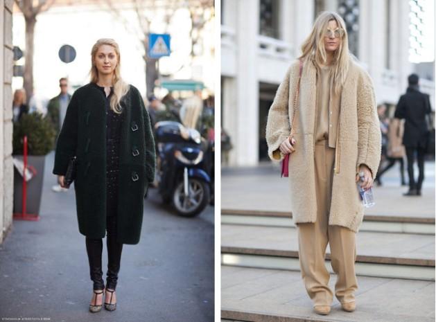 abrigo, cocoon, outfit, moda, mujer