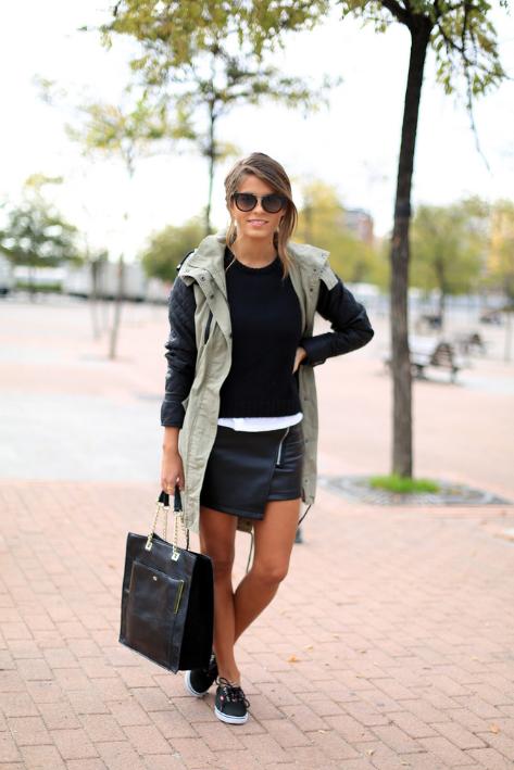 opinión, treintamasdiez, blog, moda, outfit, falda, origami
