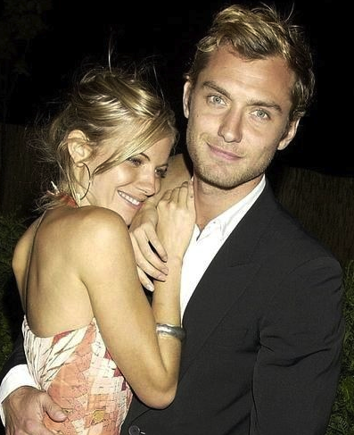 Jude Law, Sienna Miller, actores, it girl, británicos