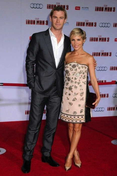 Elsa Pataky, Chris Hemsworth, actores, guapos