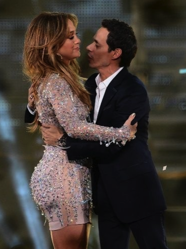 Jennifer López, Marc Anthony, cantantes