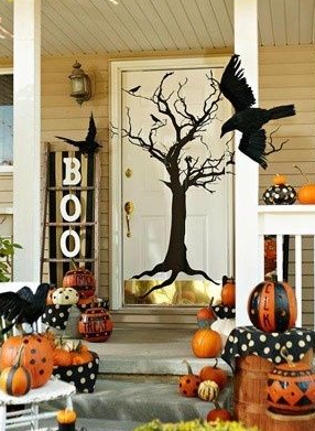 Hallowen, calabaza, fiesta, noche de miedo, fiesta, caramelos, truco o trato, decoración
