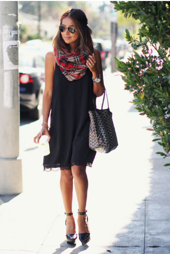 vestido, lencero, outfit, moda, mujer, tendencia