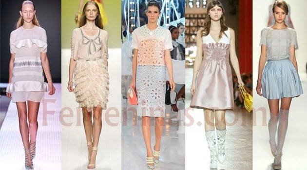 naif, romántico, chic, outfit, moda, mujer, tendencia,