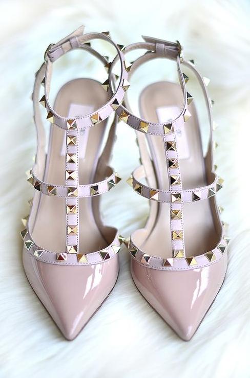 complementos, Valentino, calzado, zapatos, mujer, nude