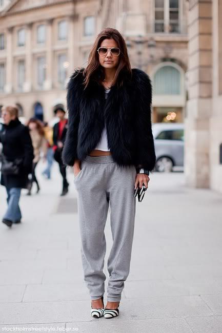 abrigo, chandal, sporty, outfit, moda, tendencia, mujer