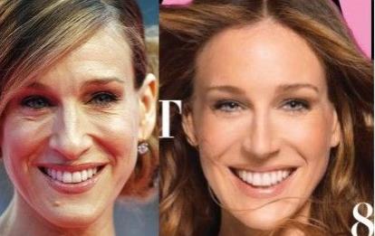 Photoshop, retoque, Demi Moore, mujer, cambio
