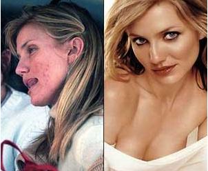 Photoshop, retoque, Demi Moore, mujer, cambio, Alessandra Ambrosio, Cameron Diaz