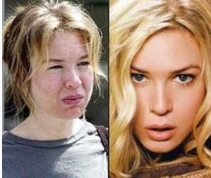 Photoshop, retoque, Demi Moore, mujer, cambio, Alessandra Ambrosio
