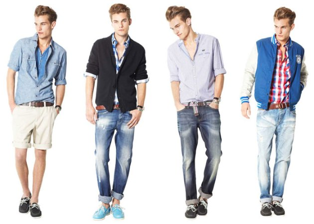 moda, outfit, hombre, roll up, pantalones