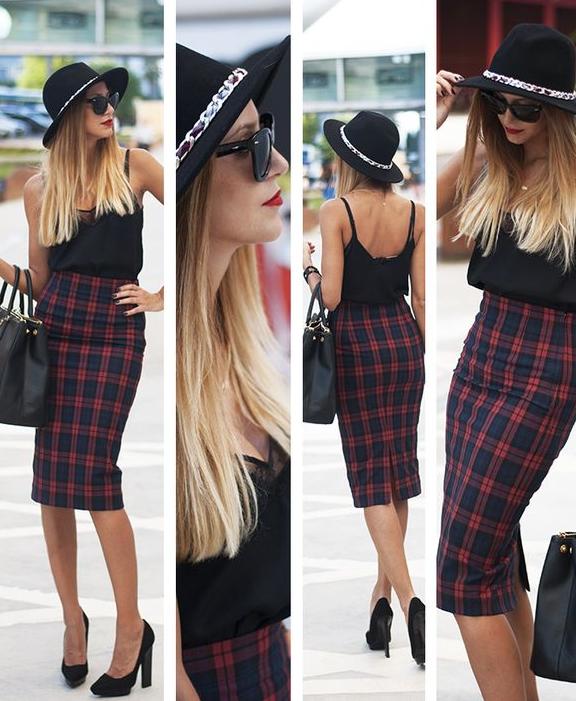 falda, outfit, moda, mujer, Zara