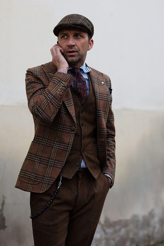 tartán, plaid, ropa, moda, outfit, hombre, Abercrombie, chaqueta, pantalón