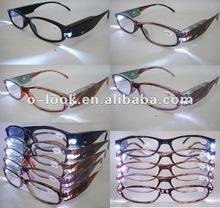 gafas, led, luz, lectura, regalo