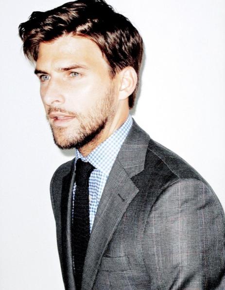 barba, tendencia, hombre, moda