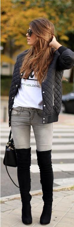 chaqueta, bomber, outfit, moda, tendencia, mujer, beisbolero