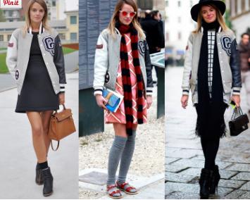 beisbolera, chaqueta, chamarra, tendencia, outfit