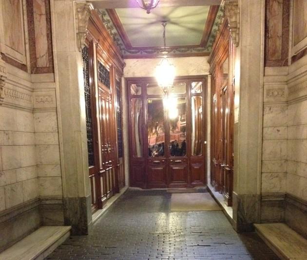Portal, calle Jorge Juan, España, Madrid