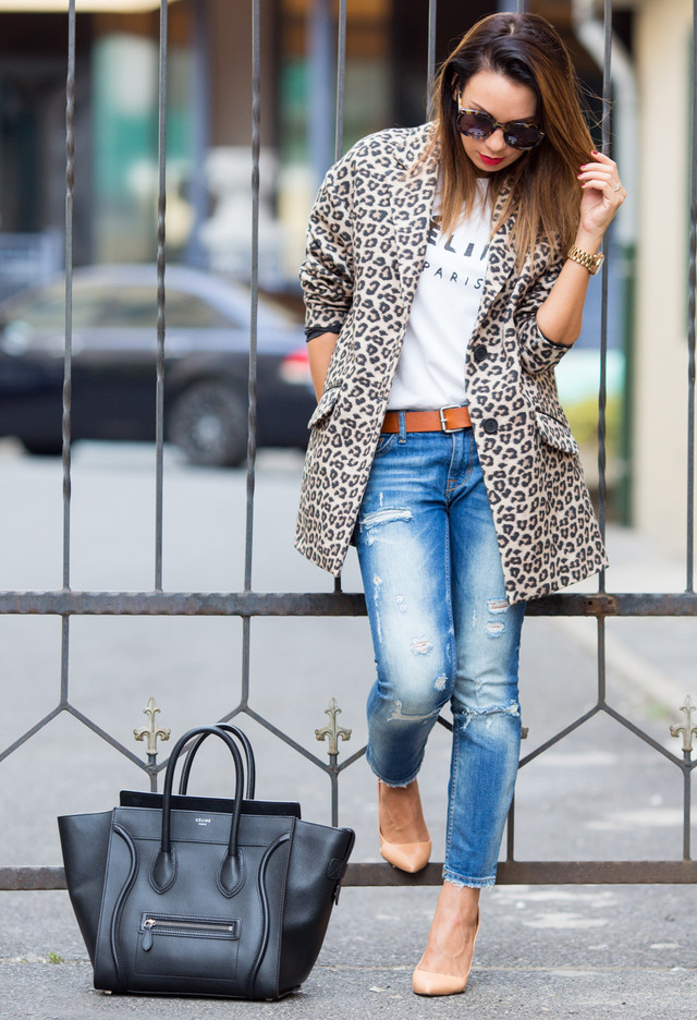 jeans, vaqueros, pantalones, ripped, frayed, outfit, tendencia, mujer,