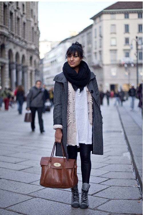 capas, layers, tendencia, moda, outfit, mujer