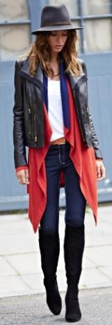 capa, outfit, moda, tendencia, mujer