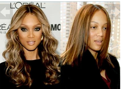 maquillaje, before and after, antes y despues, Rihana, tendencia, mujer, Tyra Banks, Jessica Biel